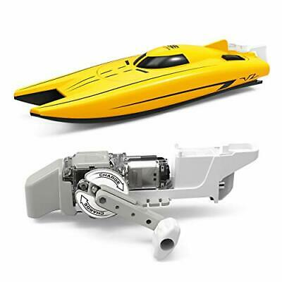 MKZDGM Electric Racing Boat,Wind-up Power Boat,Outdoor Pool Toys,Mini