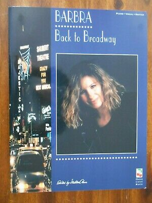 MUSIC OF THE STARS BARBRA STREISAND SONG BOOK PVG VOLUME 9