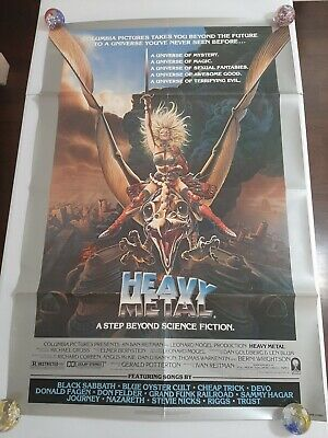 Heavy Metal 1981 Style A Original Movie Poster 120 00 Picclick