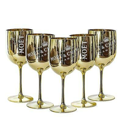 in Aust 1Pc MOET CHANDON Wine Champagne Glass VG Advertising Bar Collectable