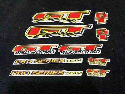 GT DECAL STICKER FOR OLD SCHOOL BMX PARK RACING BIKES BICYCLE