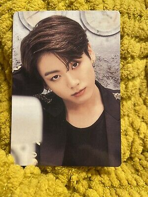 Official BTS Photocard Jungkook Love Yourself Japan World