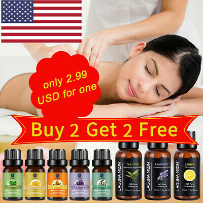 LM Aromatherapy Essential Oils Natural Pure Organic Essential Oil Fragrances