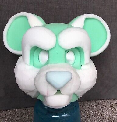 Angel Dragon Style Fursuit Headbase Kit for you to make your own Furry Foam Head Base