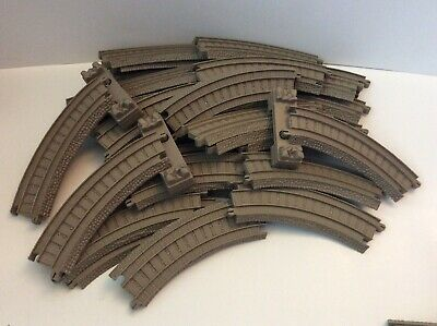 Thomas /& Friends Trackmaster Tan Switches Train Elevation Straight Track Mattel