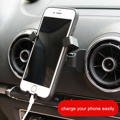 Car Accessories Air Vent Mount Cradle Phone Holder Stand for Audi A3 2013-2019