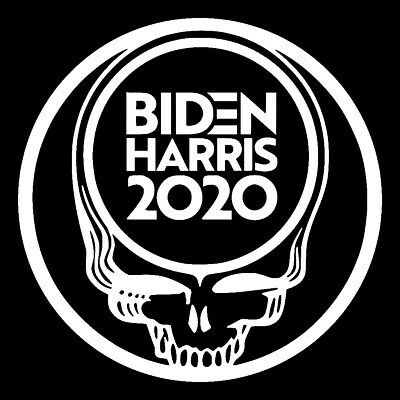 Biden Harris 2020 Grateful Dead SYF Vinyl Decal Sticker Democrat Progressive