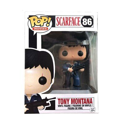 Funko Pop Tony Montana 86 Action Figure Scarface Movie Collection Toy With Box