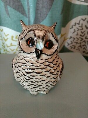 Owl String Holder By Babbacombe Pottery NEW CLEARANCE