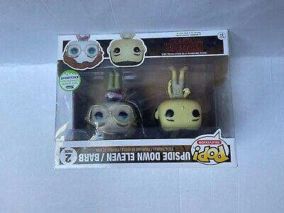 Funko Pop! Stranger Things Upside Down Eleven / Barb 2 Pack ECCC 2017 Exclusive