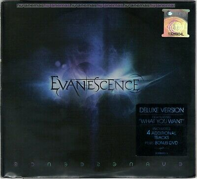 EVANESCENCE Deluxe Version MALAYSIA EDITION DIGIPAK CD + DVD SET RARE NEW SEALED