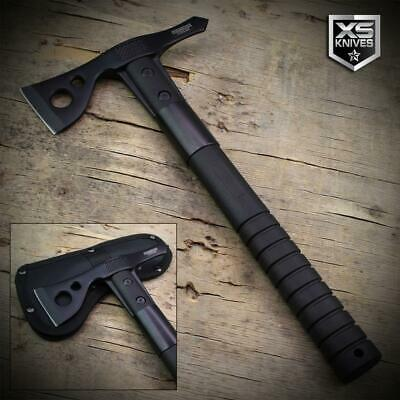 """12"""" Hunting TOMAHAWK Tactical THROWING AXE Battle Hatchet CAMPING HIKING"""