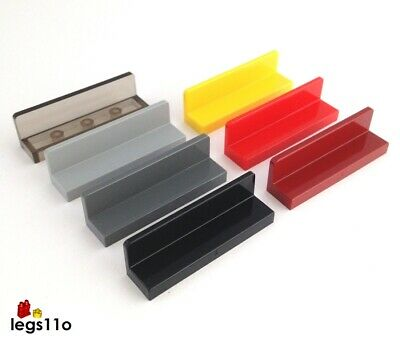 Lego 20x Genuine Brick Yellow Tan 1x2x1 Wall Element Panel End 6146221 26169 NEW