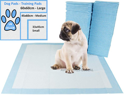 Puppy Pet Training Wee Pee Toilet Pads Pad Floor Mats Dog Cat Heavy Duty Large