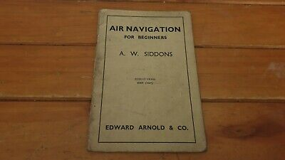 Vintage WW2 Air Navigation For Beginners Very Rare Military Book