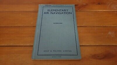 Vintage WW2 Elementary Air Navigation Very Rare RAF Military Book 1942 VGC