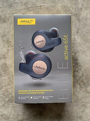 Jabra Elite Sport Wireless In Ear Headphones W Heart Rate Monitor Black 176 27 Picclick