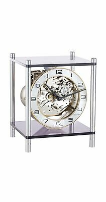Design table clock with 8-day 4/4 Westminster movement by .. HE 23035-X40340 NEW