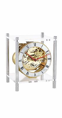 Design table clock with 8-day 4/4 Westminster movement by .. HE 23034-X40340 NEW