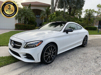 2019 Mercedes-Benz C-Class C 300 4MATIC Coupe $54K MSRP! LOW MILES* LOADED! Wholesale Luxury Cars 2019 Mercedes-Benz C-Class C 300 4MATIC Coupe (1-Owner)