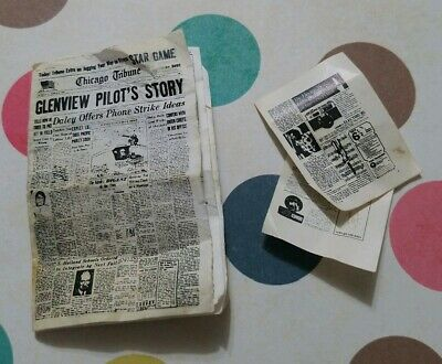 Barbie Doll 1:6 Miniature Newspaper Free Funny Papers BARBIE THEMED NEWS