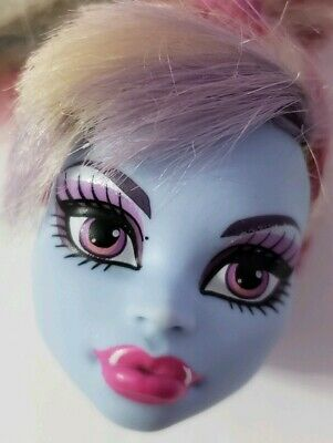 Monster High Doll Classroom Home Ick Abbey Bominable Replacement Head Only Ooak