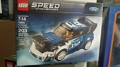 Lego Speed Champions Ford Fiesta M-Sport WRC 75885 Building Kit SHIPS FREE NEW