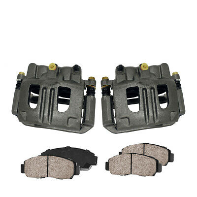 Front OE Brake Calipers And Pads For Chevy Equinox Pontiac Torrent