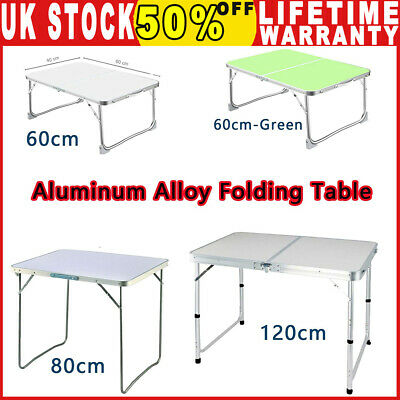 Aluminum Portable Adjustable Folding Table Camping Outdoor Picnic Party BBQ New