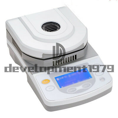 220V DSH-10A 10g Capacity Lab Moisture Analyzer Tester with Halogen Heating