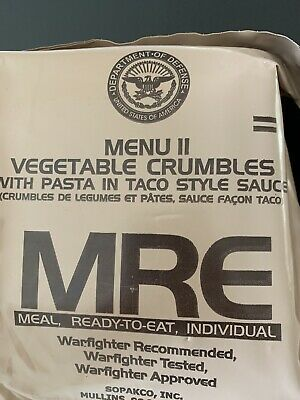 Italian Mre Food ration survival Meal camping fishing Airsoft