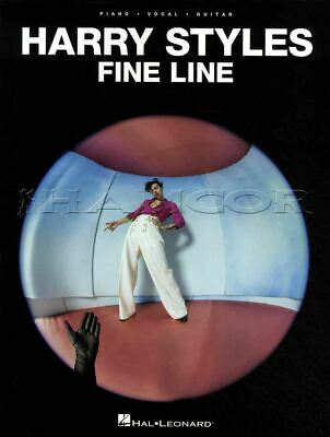 Harry Styles Fine Line Sheet Music Piano Vocal Guitar SongBook NEW 000338558