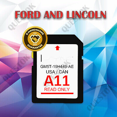 A11 2020 MAP Update Navigation SD Card USA FITS All Ford Lincoln Updates А10 A9 А8