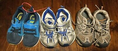 Boys Toddler Size 7,8 and 8.5, Puma and Tsukihoshi Sneakers Lot of 3 Pairs