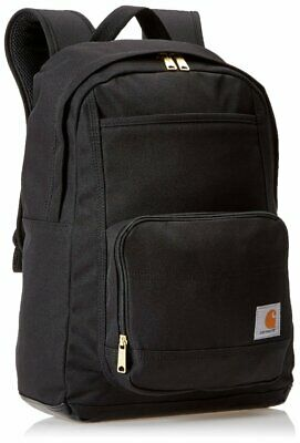 Carhartt Legacy Classic Work Backpack Black with Padded Laptop Tablet Sleeve