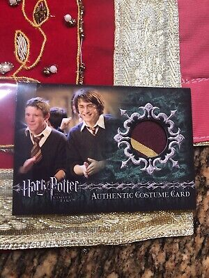 Harry Potter & The Goblet Of Fire Authentic Costume Card Gryffindor Students C15