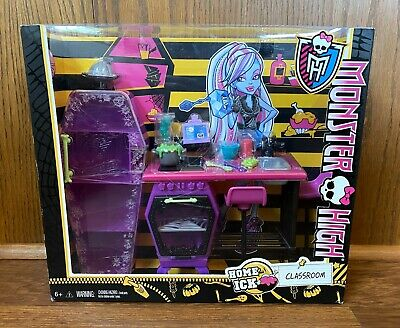 Monster High Home Ick Classroom Playset New NIB 2011 Mattel Furniture Accessory