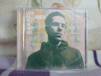 Liam Gallagher - Why Me? Why Not -CD (2019)-New/Sealed- Free uk Postage