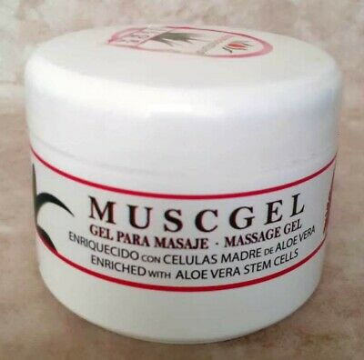 Musgel Aloe Vera Arnica/Joint&pain relief/Gel relax/Musculatura/Dolores 200ml