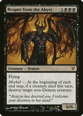Abyssal Persecutor FOIL Iconic Masters NM Black Rare MAGIC MTG CARD ABUGames