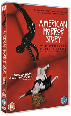 American Horror Story - The Complete First Season - 4 Discs / 12 Episodes (DVD)