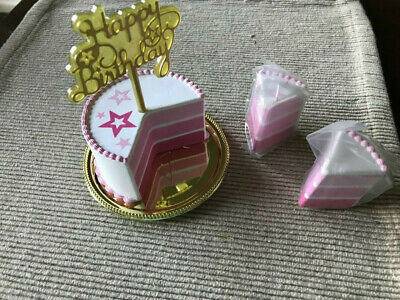 American Girl BIRTHDAY CAKE~Stickers~Game~Party~Food~ NEW