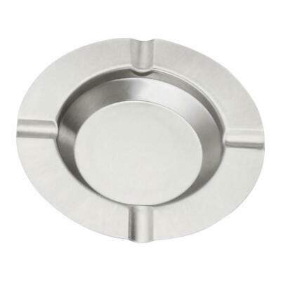 Cigarette Cigar Round Ashtray Stainless Steel Smoking Durable Ash Tray Gift
