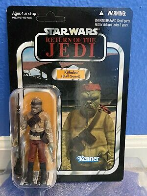 Star Wars Vintage Collection Kithaba VC56 Figure 2011 Sealed Jabba's Skiff Guard