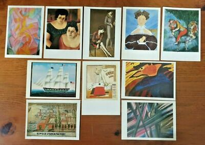 Barns-Graham Furgusson Conti JB2763 Set of 8 Different Art Postcards Corinth