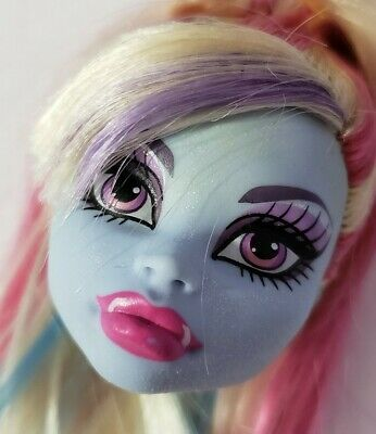 Monster High Doll Classroom Home Ick Abbey Bominable Head Only Replacement Ooak