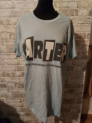 RARE 1992 Vintage Carters Usm Concert Tour T Shirt XL Blue Graphic Retro Band