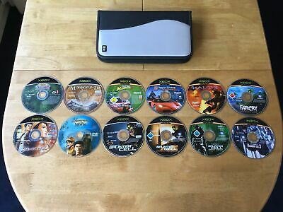 Microsoft Xbox Game Bundle 11 Games Job Lot Discs Only Includes CD Wallet