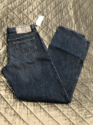 NWT Boys' Ralph Lauren Polo Classic 867 Jeans Sz 18 NEW WITH TAGS