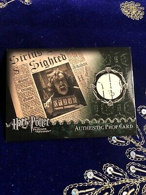 Harry Potter and The Prisoner Of Azkaban Authentic Pro Card The Daily Phophet